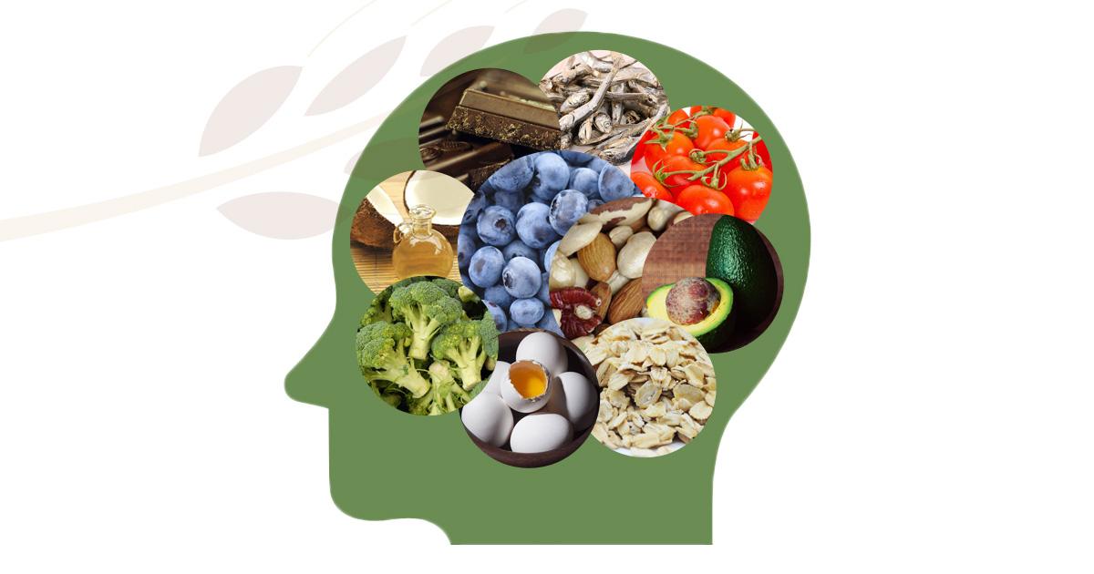 Gli alimenti che aiutano il cervello